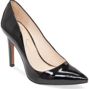 Jessica Simpson Patent Leather Pump Heels